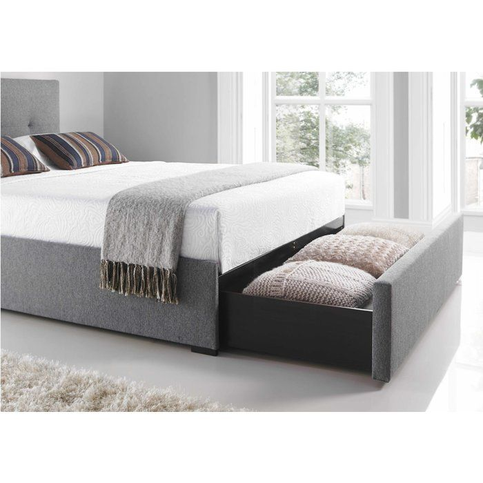 Banyan Upholstered Storage Bed Frame Bed Frame With Storage Fabric Bed Frame Bed Frame
