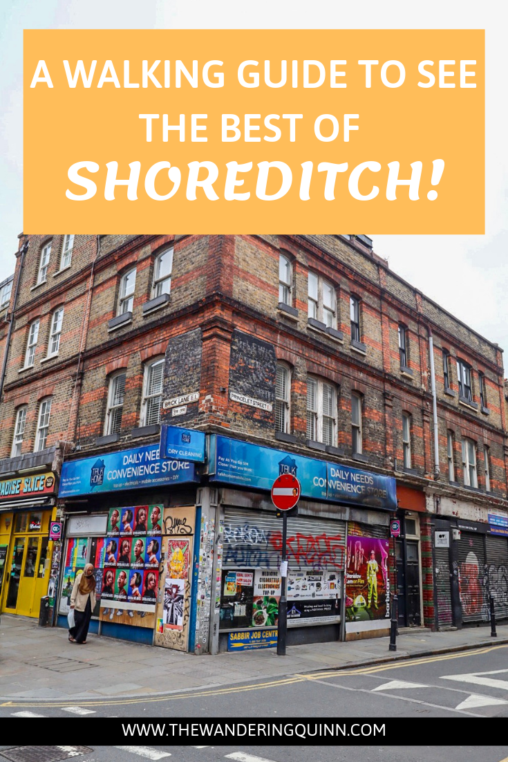 Shoreditch Map: Places To Visit In Shoreditch Any Day Of The Week, With A