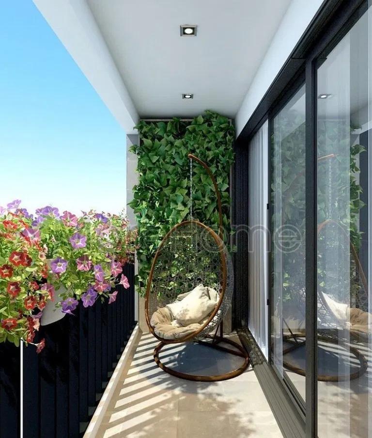Photo of Balcony garden 847802698589617269 –  71 Comfortable Home Balcony Decoration Desi…