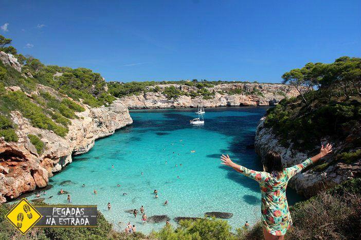 Caló des Moro Mallorca Ilhas Baleares Espanha Parque