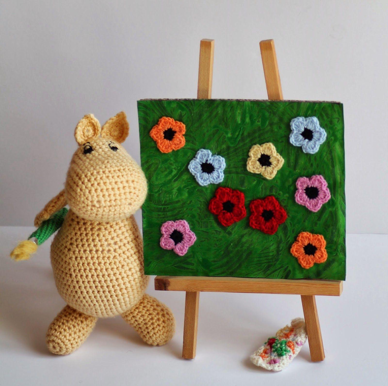 un tableau de Moomin