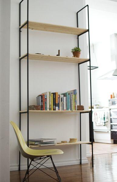 Free Standing DIY Plumber Pipe Shelf Unit