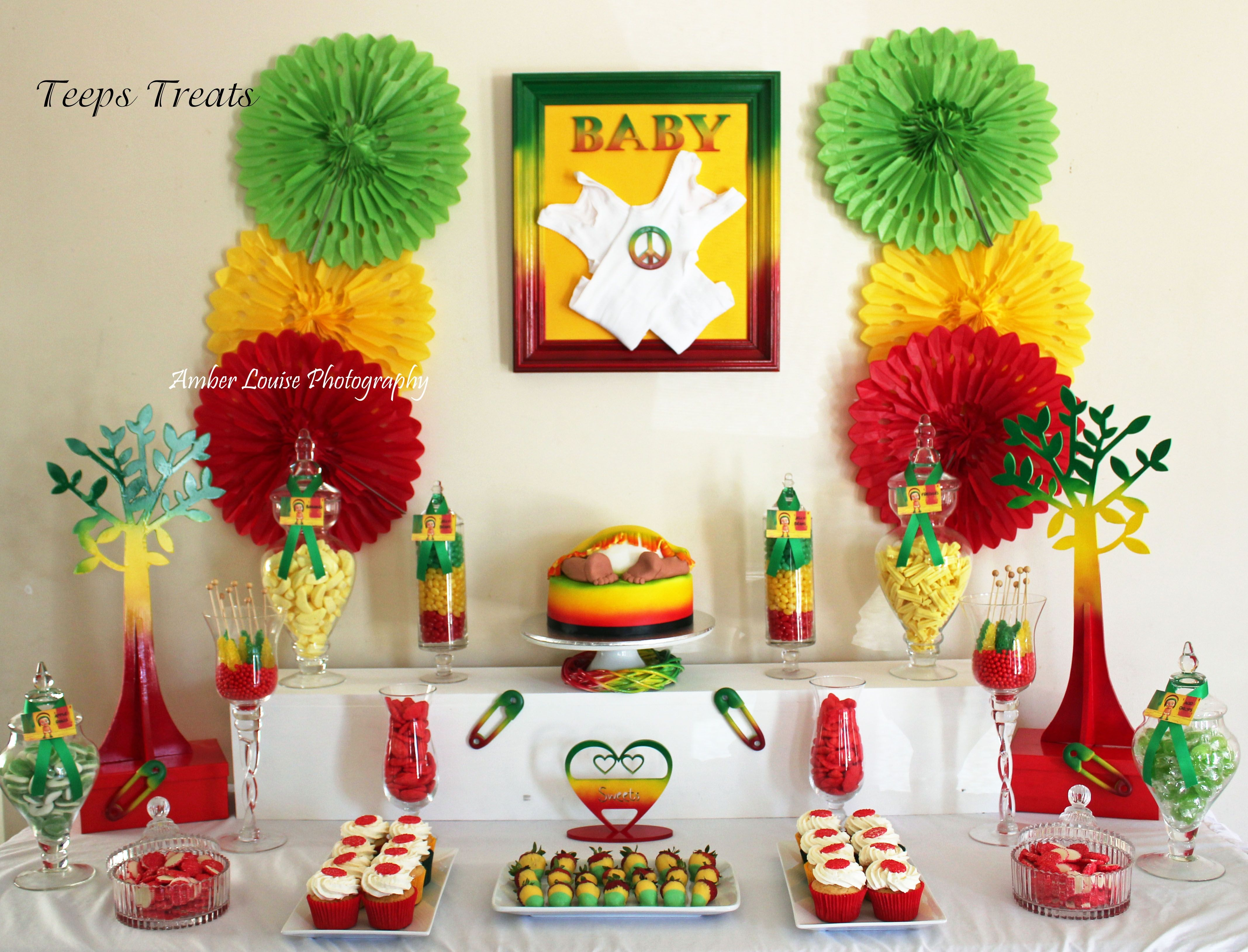 Google themes rasta - Rasta Themed Baby Shower Candy Buffet