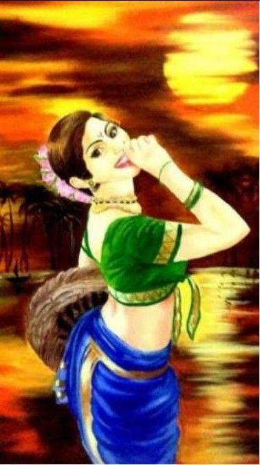 Marathi Girl Hd Wallpaper Marathi Mulgi Portrait Rangoli Rangoli Designs And