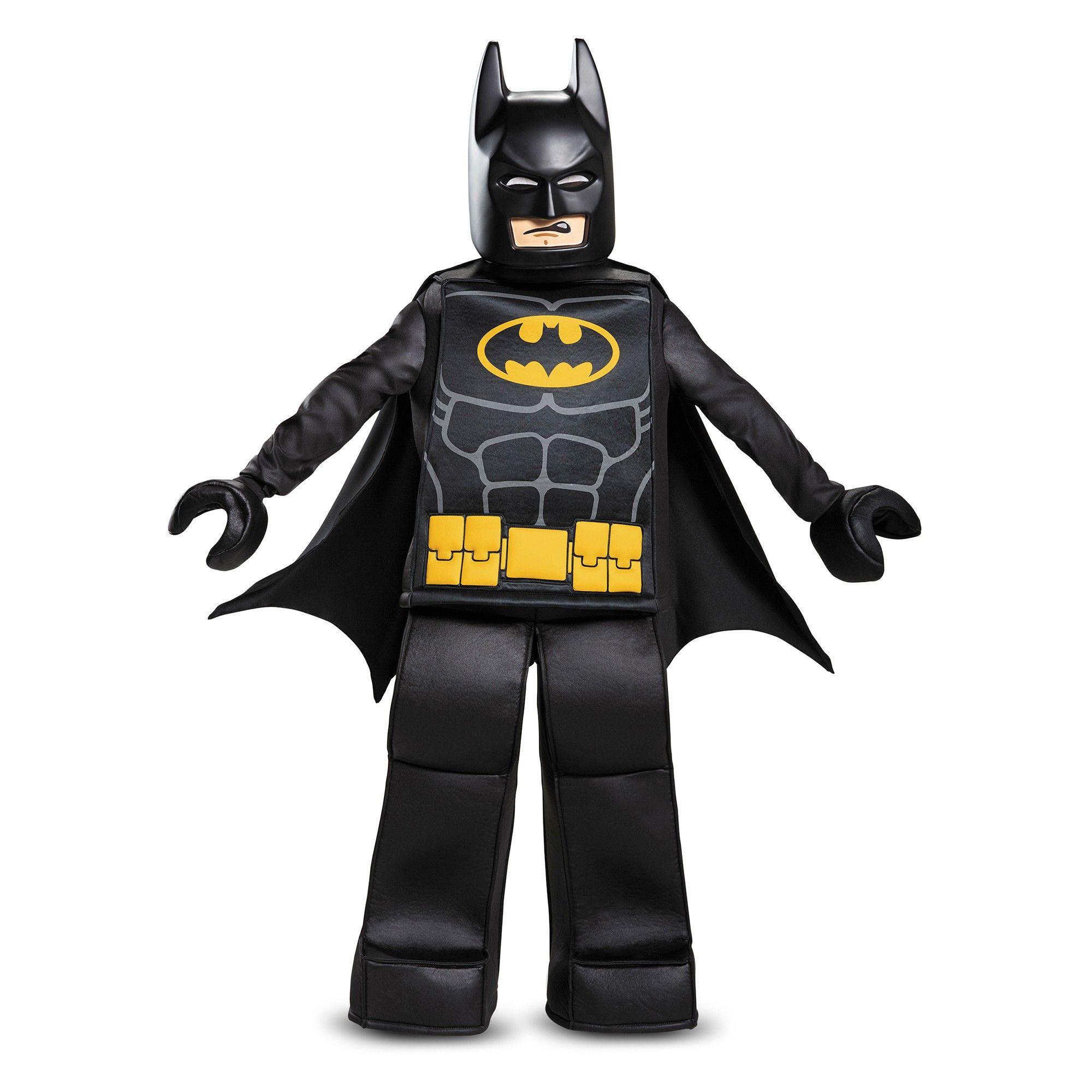 Halloween Boys' Lego Batman Prestige Deluxe Costume L