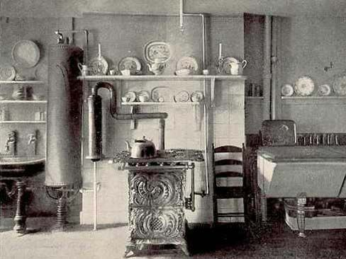 Probably Late Late 1800 S Love That Huge Copper Water Heater This Kitchen Is More