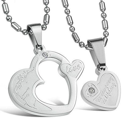 Virgin Shine Stainless Steel Rhinestones 3D Printer Couple Pendant Necklace VIRGIN SHINE http://www.amazon.co.uk/dp/B00MZZTMPC/ref=cm_sw_r_pi_dp_5z3Bub1R911ME