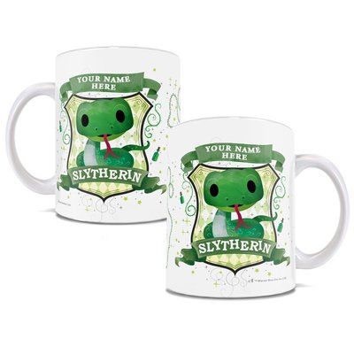 Trend Setters Harry Potter Personalized Slytherin Chibi Cute Geek Coffee Mug Wayfair Mugs Slytherin Coffee Mugs