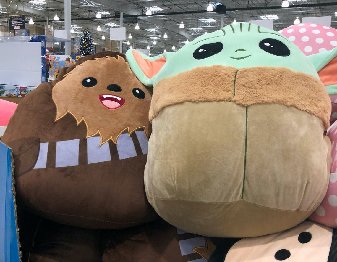 20 Squishmallows At Costco Baby Yoda Chewbacca Mickey Minnie Christmas Traditions Family Awesome Elf On The Shelf Ideas Chewbacca