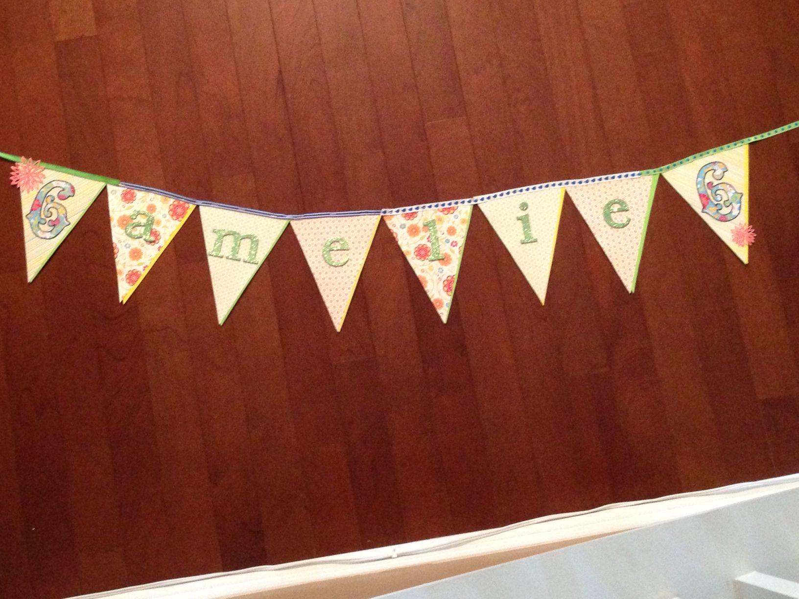 6th Birthday garden delights party