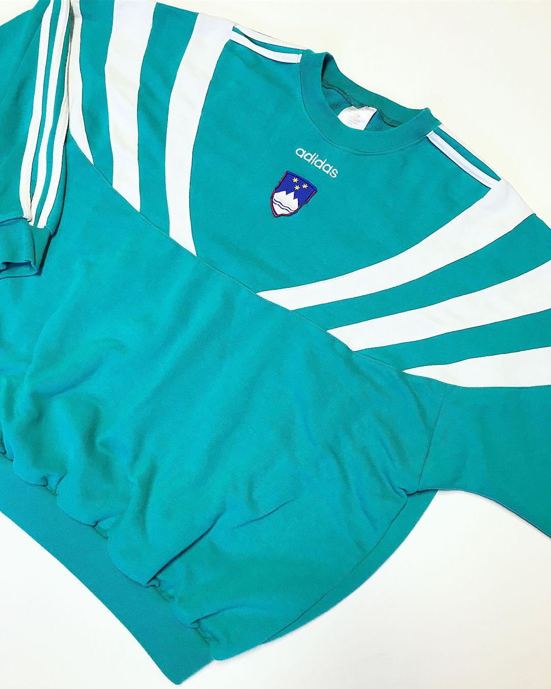 3da96708c Adidas Atlanta 1996 Slovenia olympic team crewneck 🇸🇮 Size XLOpen  tomorrow 12:00-18:30Today ➡ 18:30DM for online order#lowkey_studio #vevey