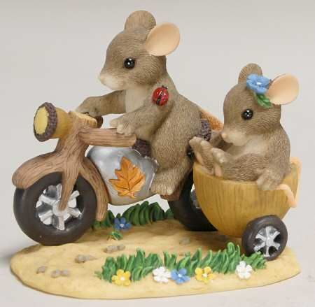 Charming Tails Tricycle Built from Treats