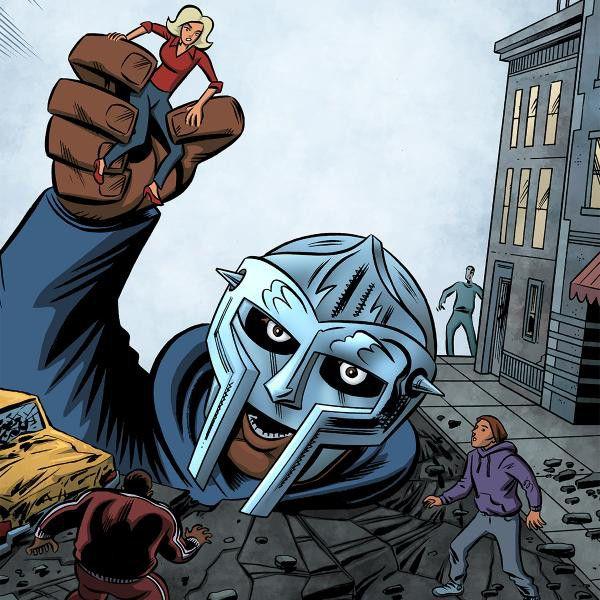 MF-Doom-RBMA-Comic | MF DOOM | Hip hop art, Alternative hip