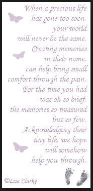 Stillborn Quotes Hope Renee Pinterest Stillborn Infant Loss