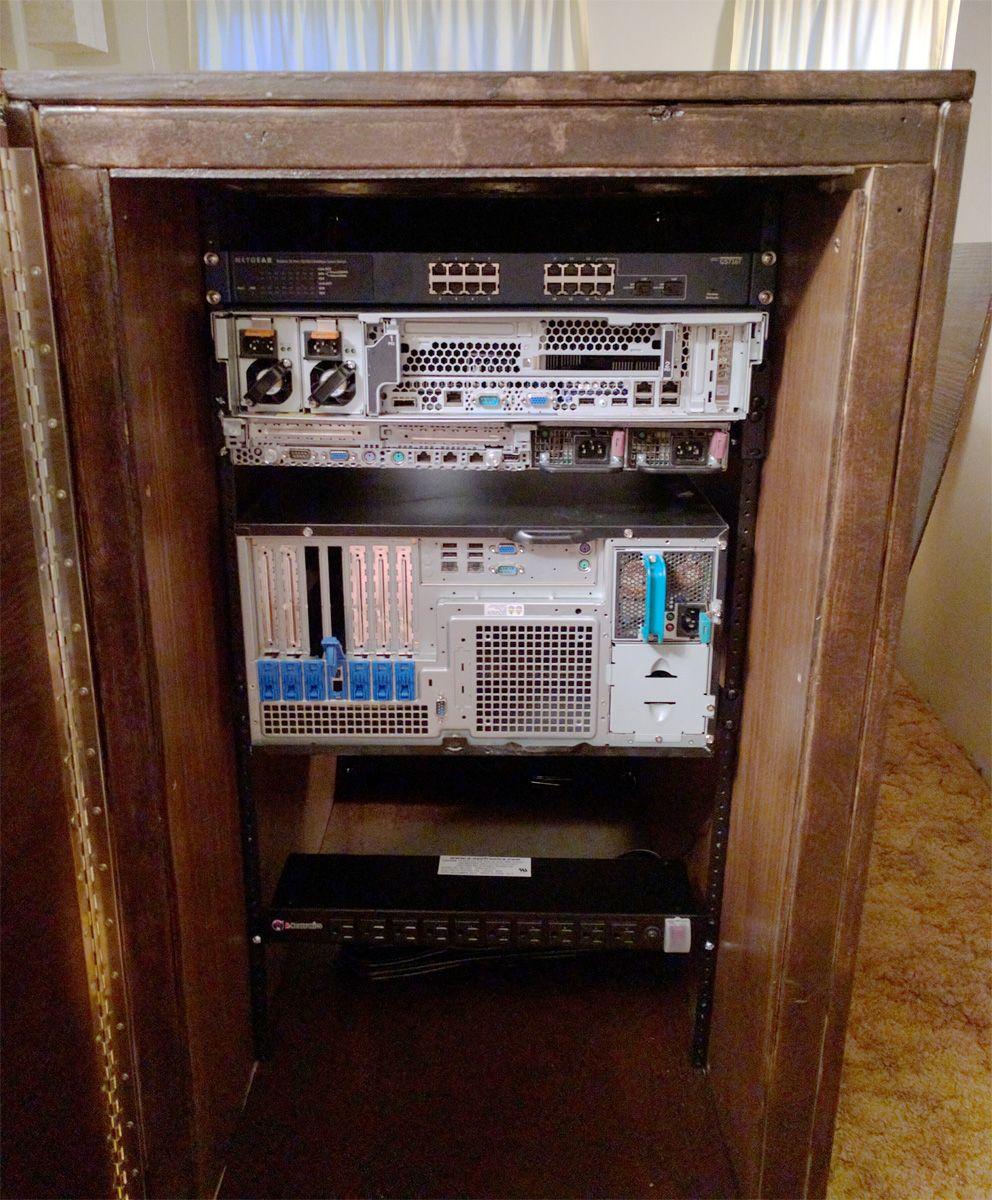 DIY Server Rack Plans | Server Racks & Cases | Pinterest | Free ...