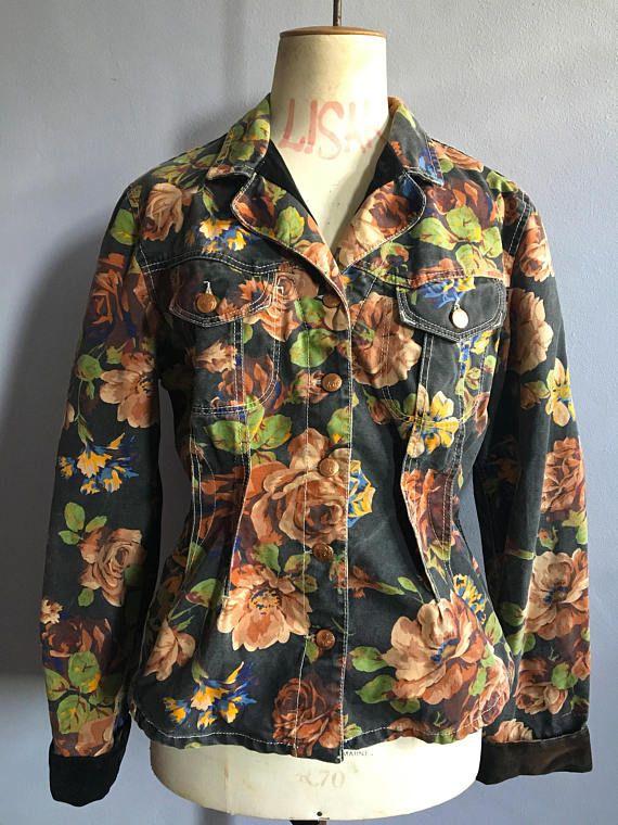 fb227190b7 Vintage Kenzo flowered jean jacket 80s Kenzo Jeans floral #vintagekenzo # kenzo #kenzojacket #kenzojeans#vintagekenzojeans