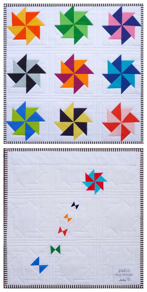 Another one from Red Pepper Quilts~ this shows front and back, both ...