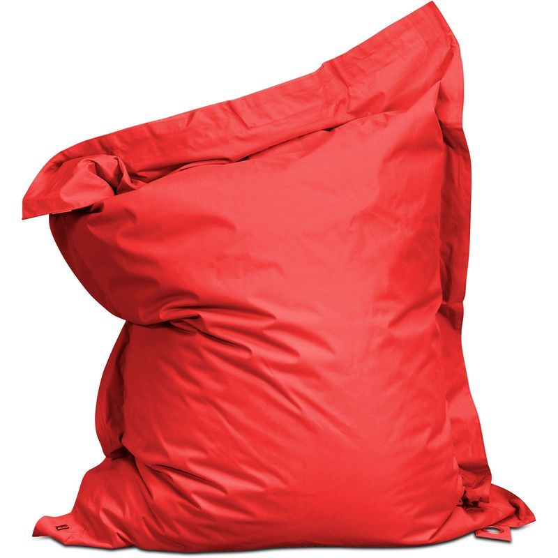 Pouf Xxl Impermeable Coussin Geant Rouge Solys