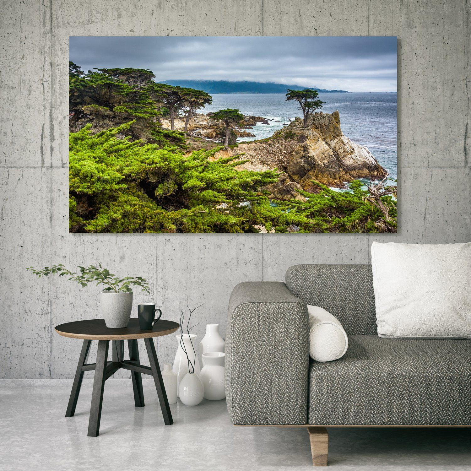 The Lone Cypress - Paper, Canvas, Metal Or Framed Wall