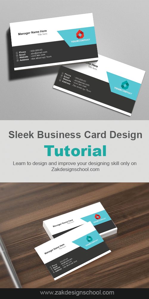 5 minutes sleek business card design tutorial graphic design 5 minutes sleek business card design tutorial colourmoves