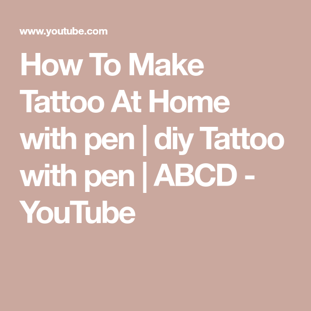 Photo of How To Make Tattoo At Home With Pen And Colgate | DIY Temporary Tattoo | Crafty Ideas – Homemade Tattoo 2020