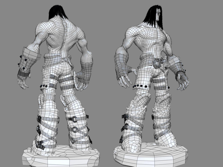 Death Darksiders 2 3D Model / Monster .max .c4d .obj .3ds