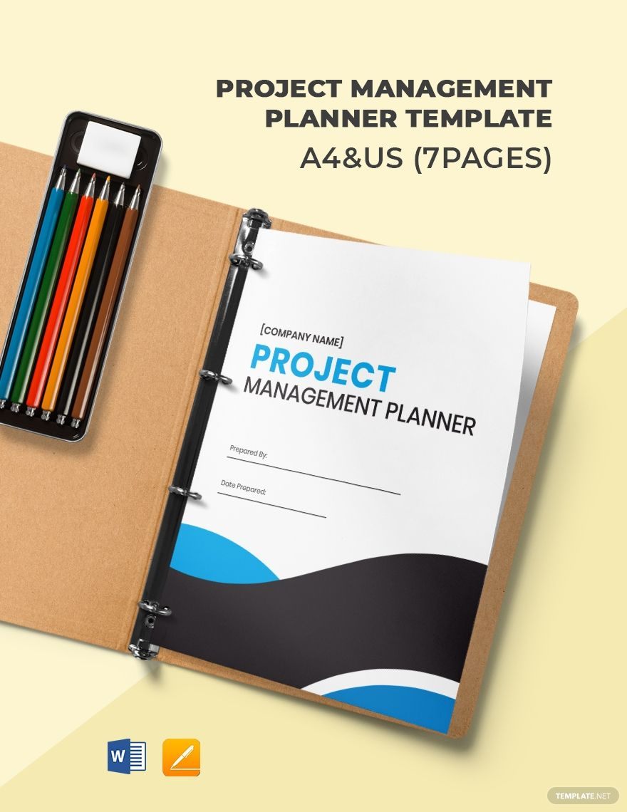 Project Management Planner Template #AD, , #affiliate, #Management, #Project, #Template, #Planner