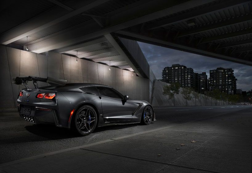 Chevrolet S Zr1 Supercar Is The Most Powerful Corvette In