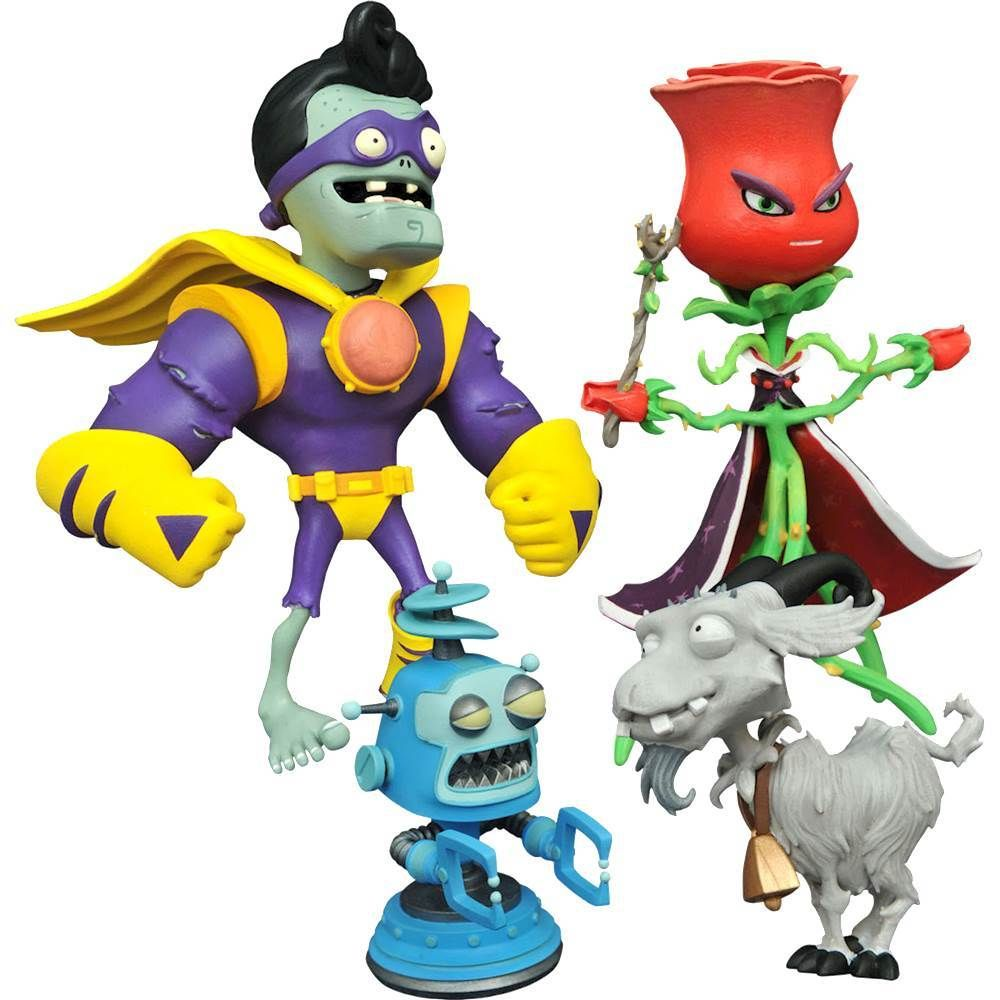 Diamond Select Toys Plants Vs Zombies Gw2 Series