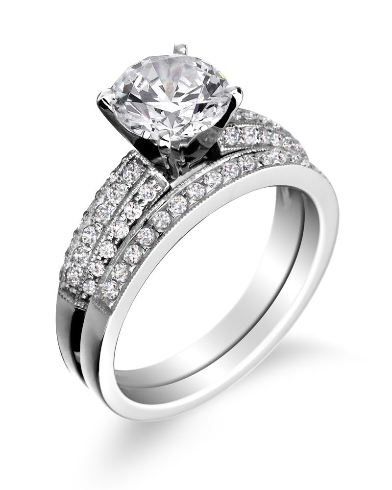 engagement ring wedding bandjpg 8001000 - Wedding Rings And Bands