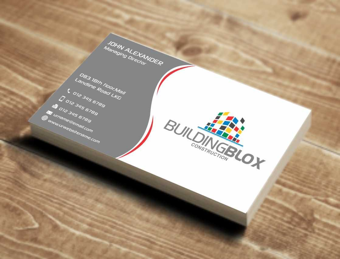 Image Result For Construction Business Cards Architect Pinterest