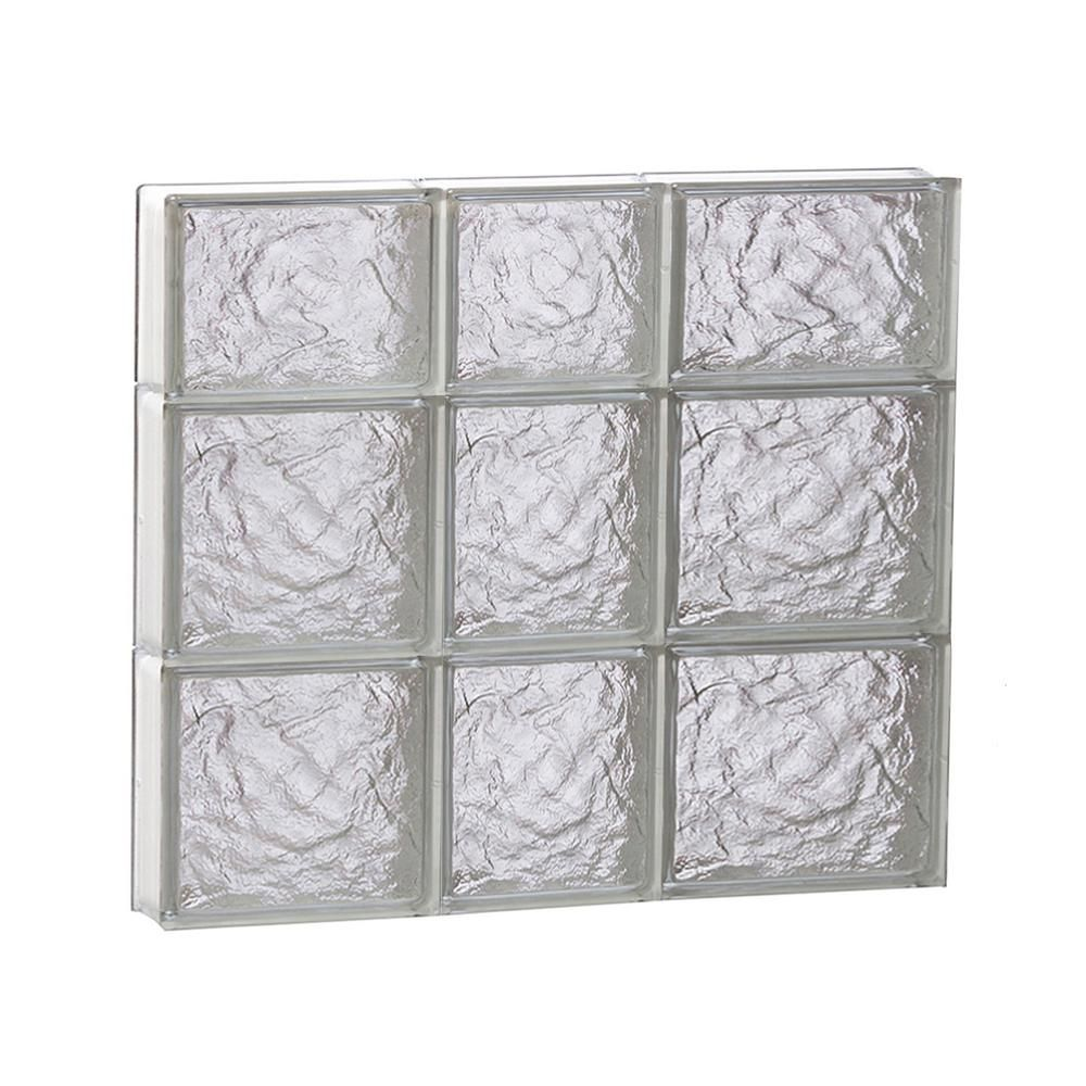 Clearly Secure 21 25 In X 21 25 In X 3 125 In Frameless Ice