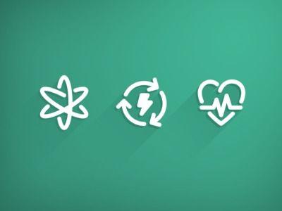 """Icon set WIP"" in Graphic Design"