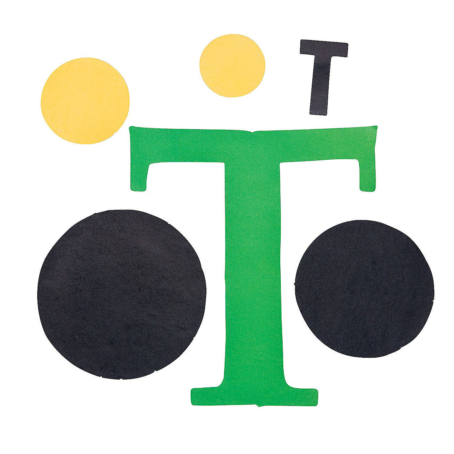Oriental trading christian crafts -  T Is For Tractors Letter T Craft Kit Oriental Trading