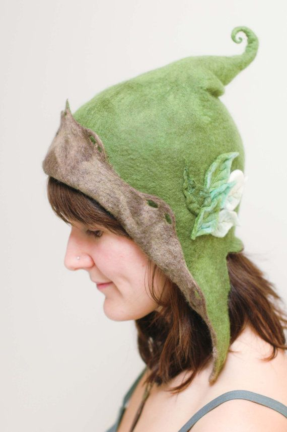 woman s hood fairy hat made to order by lalabugdesigns on Etsy ... 4d2ef155ded45