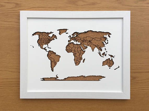 Beautiful framed cork world map 11 x 14 world maps pinterest beautiful framed cork world map 11 x 14 gumiabroncs Choice Image