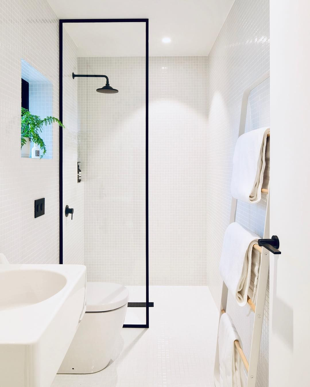 Interior Scandinavian Design On Instagram You Loved This Punchy Little Bathroom So Much W Minimalist Bathroom Design Modern Bathroom Design