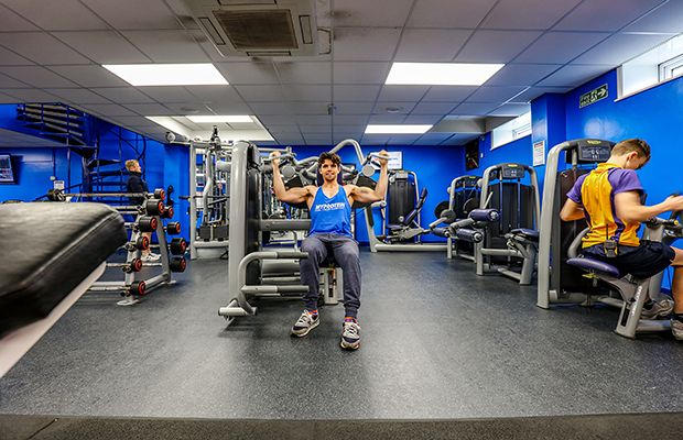 One of our latest case studies at Bingham Leisure Centre, where this project specified two of our #Flooring ranges for their fitness area to revitalise this gym. Powershock 300 vulcanised #RubberFlooring and GTI Max #SafetyFlooring was used to create this striking area!