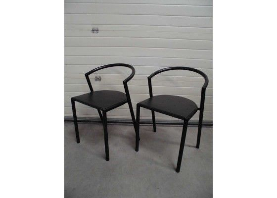 Expresso Chairs by Lars Mathiesen for Magnus Olesen, 1980s, Set of 2 for sale at Pamono