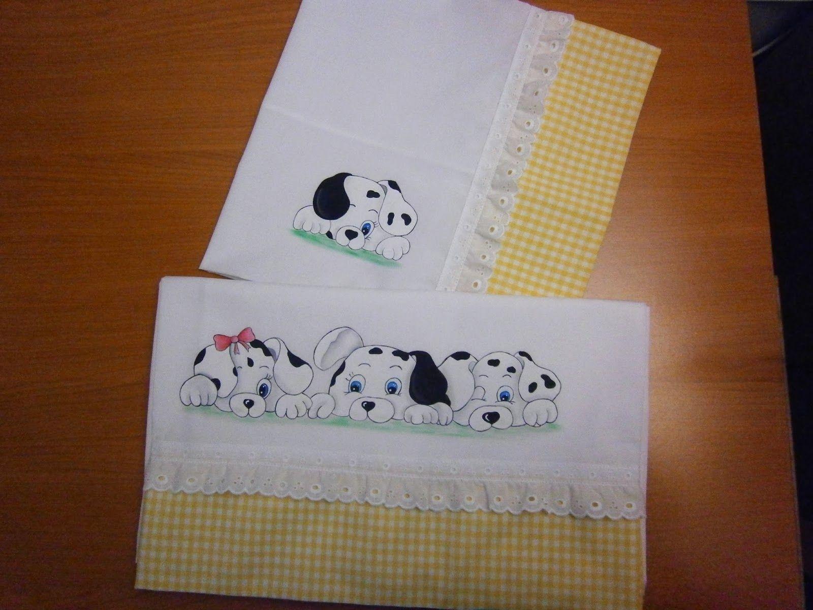 Axo xere s banas pintadas a mano pintura en tela sabanas de bebe infantiles pinterest - Telas para colchas infantiles ...