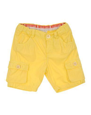 ROBERTO CAVALLI NEWBORN Boy's' Bermuda Yellow 9 months