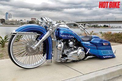 Larger Than Life – Custom 2014 Harley-Davidson Road King   I Love Harley Davidson Bikes