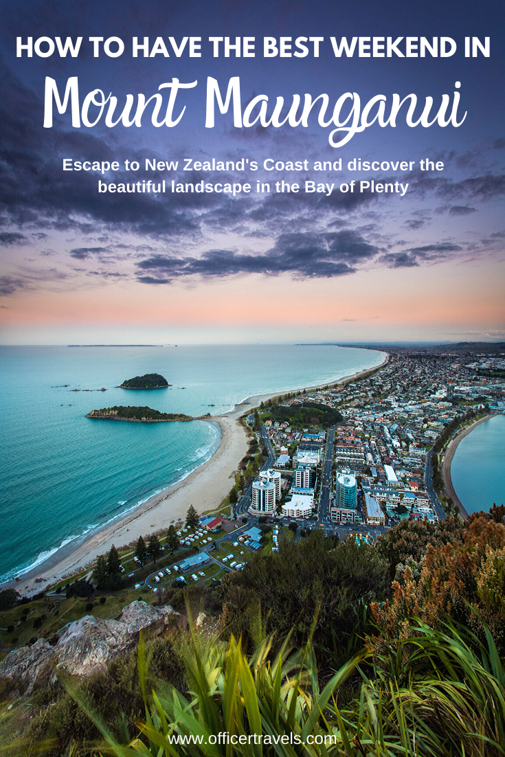 A weekend in Mount Maunganui – everything you need to know about this coastal town in Tauranga, New Zealand. Hike Volcanoes, spot sea-life or camp on the beach. This little town has everything you need   #Camping #NewZealand #travel #hiking #ThingsToDo #Tauranga #BayOfPlenty   Things to do in New Zealand, Coastal towns New Zealand, Beach Holiday New Zealand, New Zealand Itinerary  