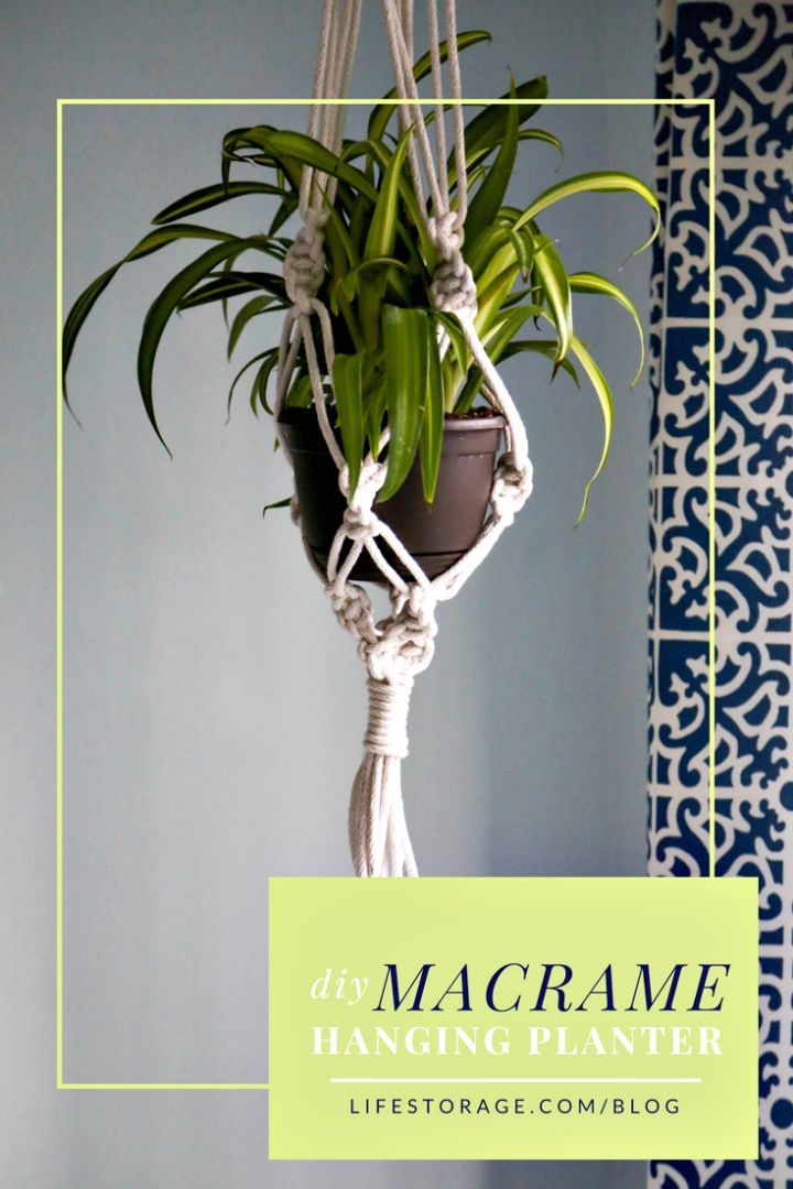 DIY Macrame Plant Holder By Using Bangle