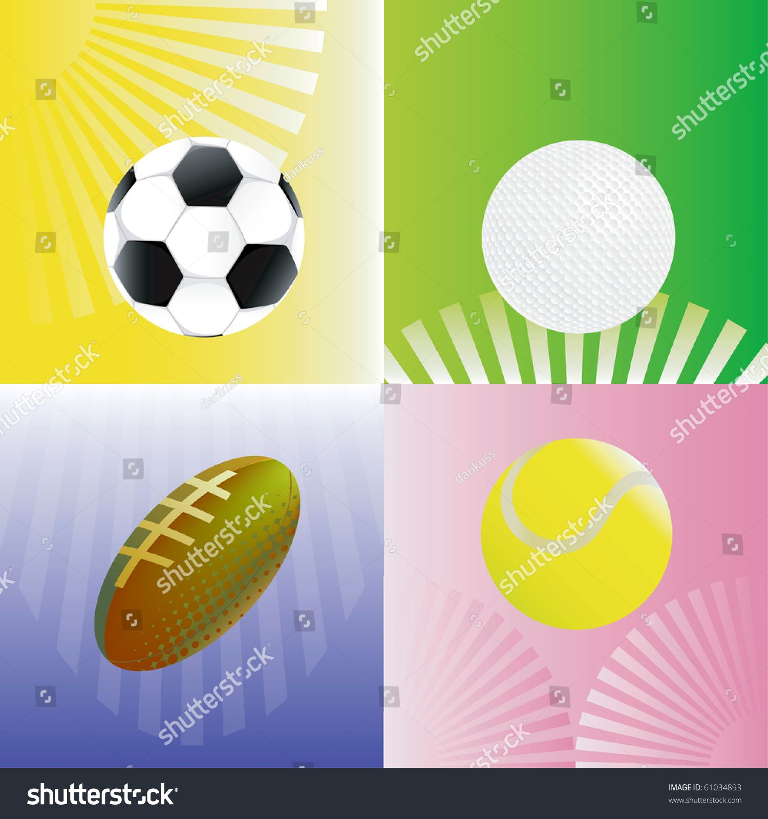 Abstract Background With Soccer Football Tennis And Golf Balls Vector Illustration Contain Illustrator In 2020 Macro Photography Tutorial Abstract Backgrounds Soccer