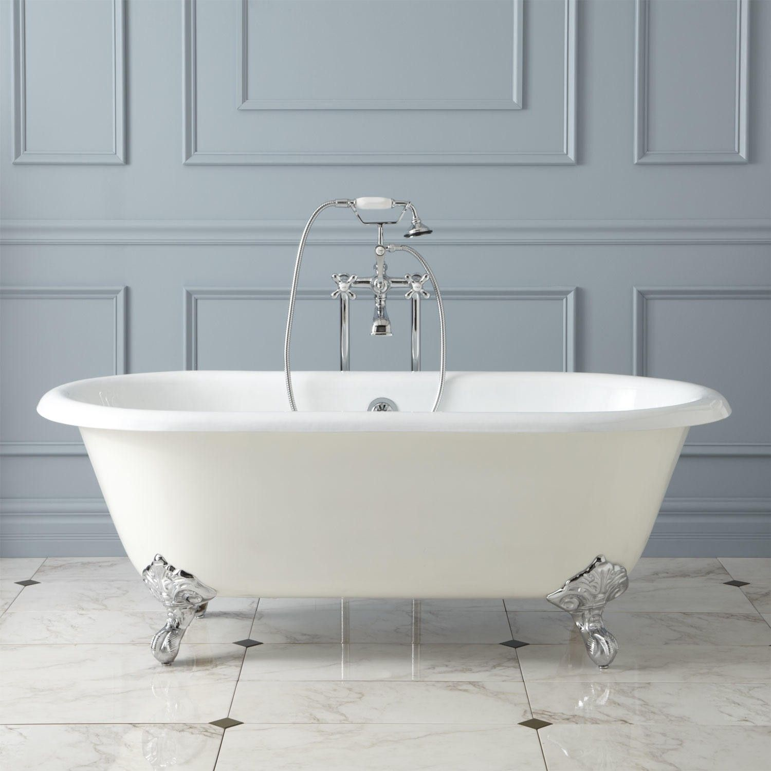 Ralston Cast Iron Clawfoot Tub Imperial Feet These Feet Can Also Come In White This Tames The Look Down A Bit Clawfoot Tub Clawfoot Bathtub