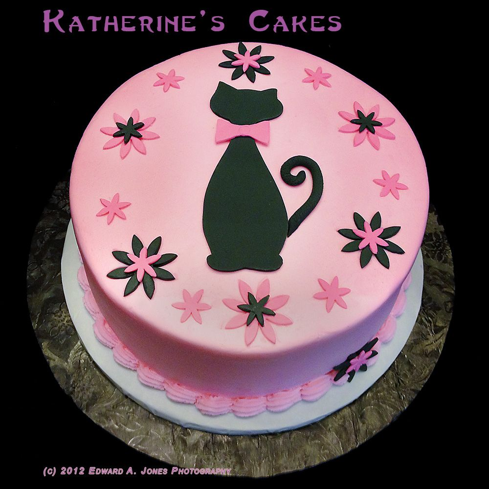 Img0581 Cristins Cat Theme Birthday Cake For Website Cat Cakes