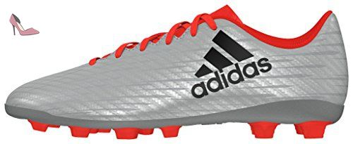 X 16.3 FG Leather, Chaussures de Football Homme, Negro (Negbas/Ftwbla/Dormet), 46 2/3 EUadidas