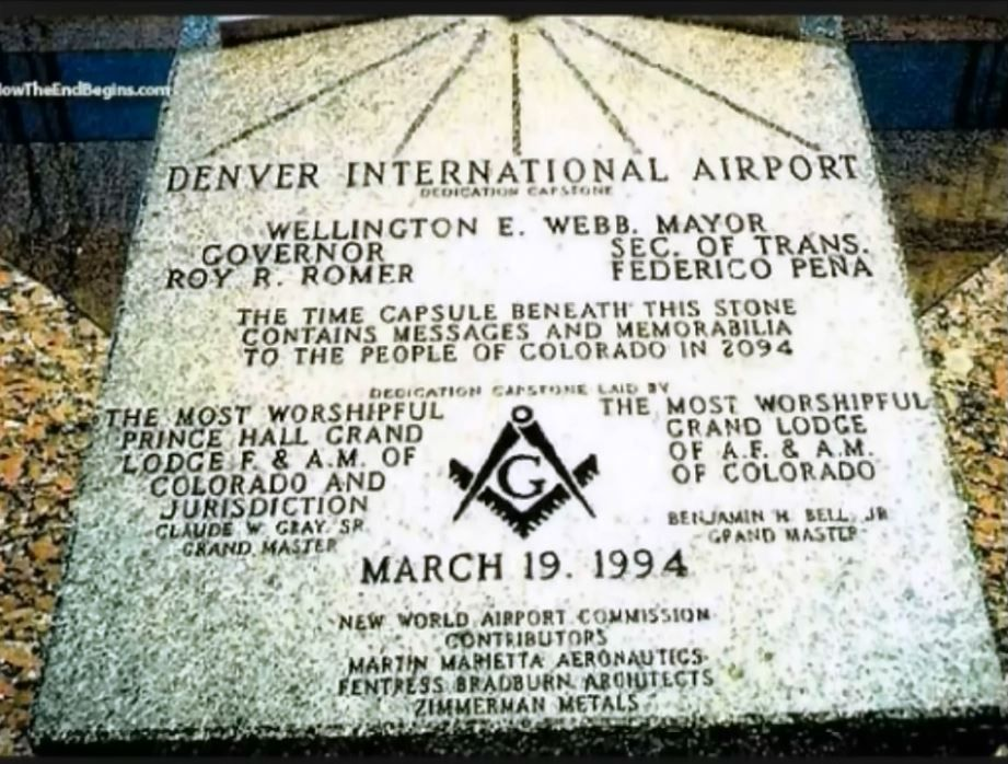 Image result for denver airport capstone