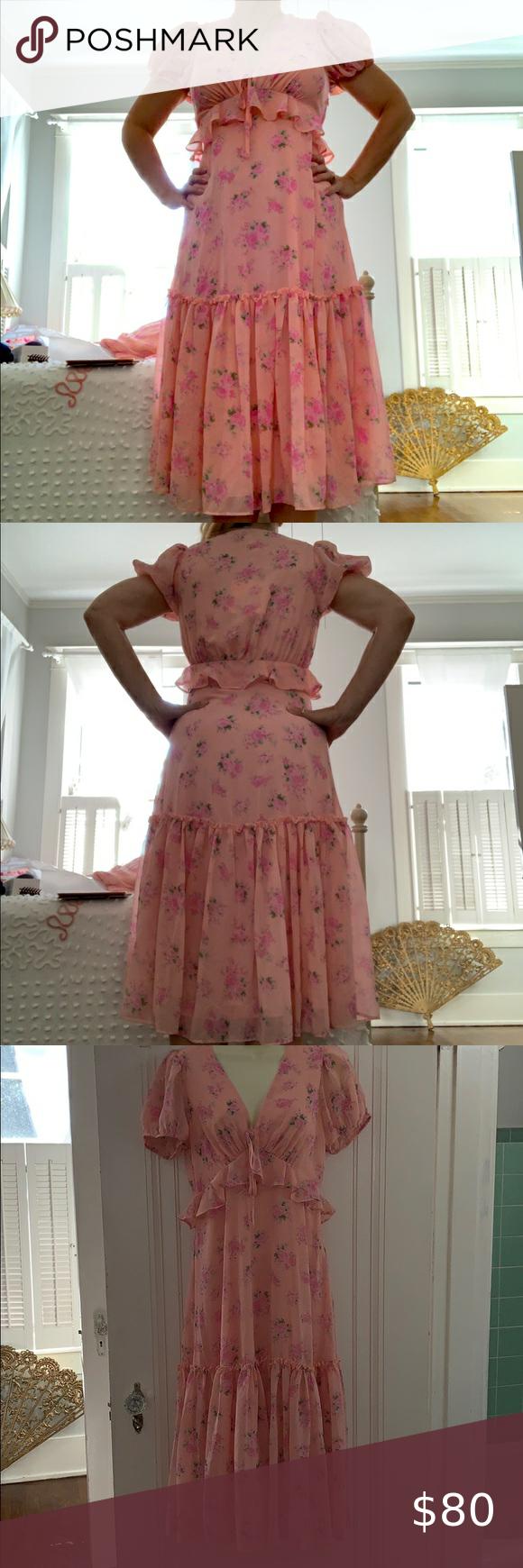 Nwt Loveshackfancy For Target Fleur Dress Fashion Floral Blue Dress Silk Floral Dress [ 1740 x 580 Pixel ]